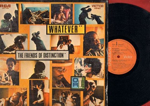 Friends Of Distinction - Whatever: You And I, Soulful Anthem, Check It Out, Great Day, Bring Us A Better Day (Vinyl STEREO LP record, German Pressing) - EX8/VG7 - LP Records