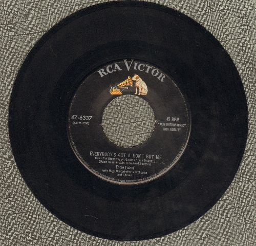 Fisher, Eddie - Everybody's Got A Home But Me/Deungaree Doll - EX8/ - 45 rpm Records