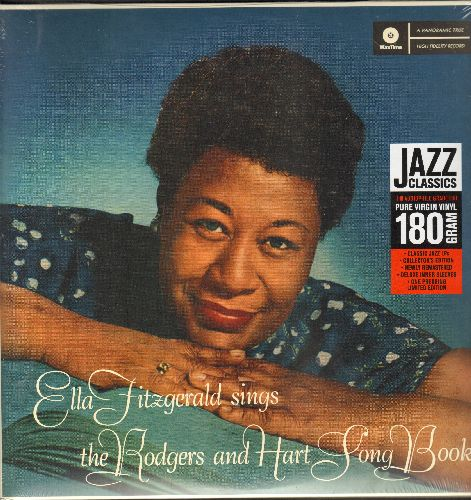 Fitzgerald, Ella - Ella Fitzgerals Sings The Rodgers & Hart Song Book: Bue Moon, Bewitched, My Heart Stood Still, My Funny Valentine (2 vinyl MONO LP records, gate-fold cover, Digitally Remastered EU Pressing, SEALED, never opened!) - SEALED/SEALED - LP R