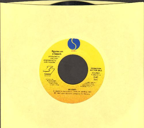 No Stars - Figures On The Beach (double-A-sided DJ advance pressing) - NM9/ - 45 rpm Records