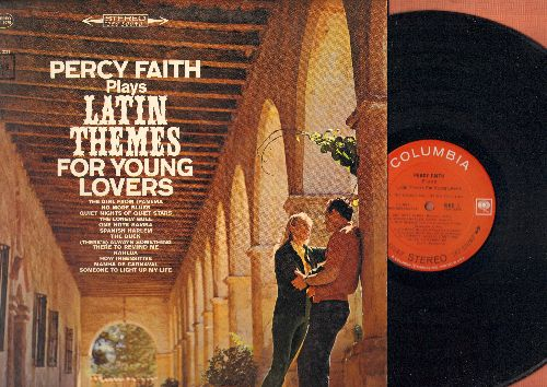 Faith, Percy - Latin Themes: The Girl From Ipanema, One Note Samba, The Lonely Bull, Spanish Harlem, Kahlua, Manha De Carnaval (Vinyl STEREO LP record) - NM9/NM9 - LP Records