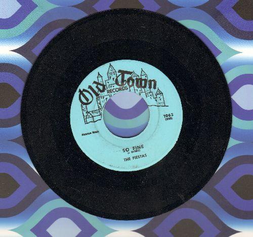 Fiestas - So Fine/Last Night I Dreamed (WITH piano intro!) - NM9/ - 45 rpm Records