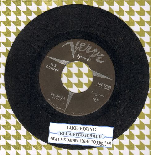 Fitzgerald, Ella - Like Young/Beat Me Daddy Eight To The Bar (with juke box label) - VG7/ - 45 rpm Records