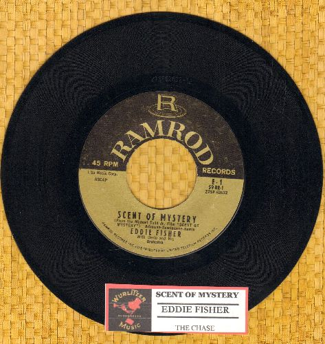 Fisher, Eddie - Scent Of Mystery/The Chase (with juke box label) - EX8/ - 45 rpm Records
