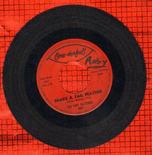 Five Du-Tones - Shake A Tail Feather/Divorce Court - VG7/ - 45 rpm Records