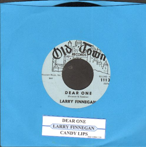Finnegan, Larry - Dear One/Candy Lips (light blue label early pressing) - NM9/ - 45 rpm Records
