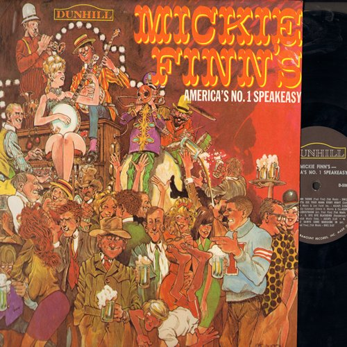 Finn, Mickie - Mickie Finn's - America's No. 1 Speakeasy: Alley Cat, Side By Side, Swinging On A Star, When The Saints Go Marching In (Vinyl MONO LP record) - NM9/NM9 - LP Records