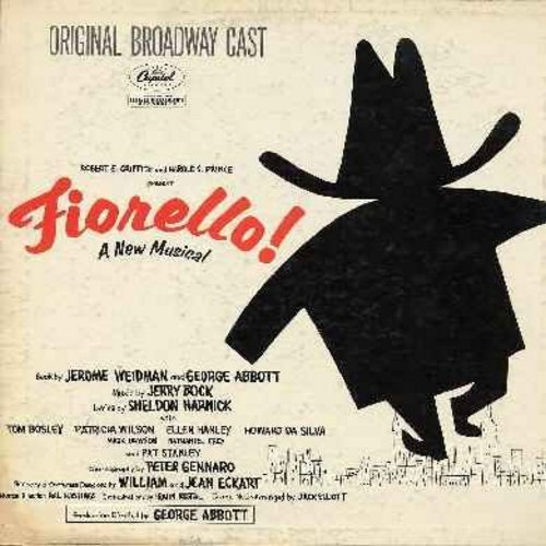Bosley, Tom, Patricia Wilson, others - Firello! - A New Musical - Original Broadway Cast, 1959 first issue (Vinyl MONO LP record) - NM9/VG7 - LP Records