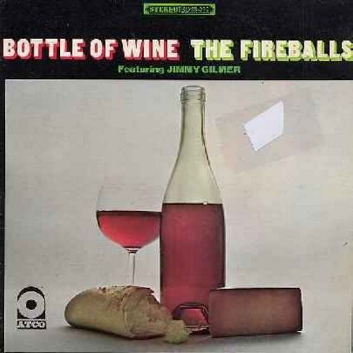 Fireballs - Bottle Of Wine: Groovy Motions, A Girl As Perfect As You, Chicken Little, Mason Street, Where Can Tomorrow Be Found? (Vinyl STEREO LP record, ssoc) - NM9/EX8 - LP Records