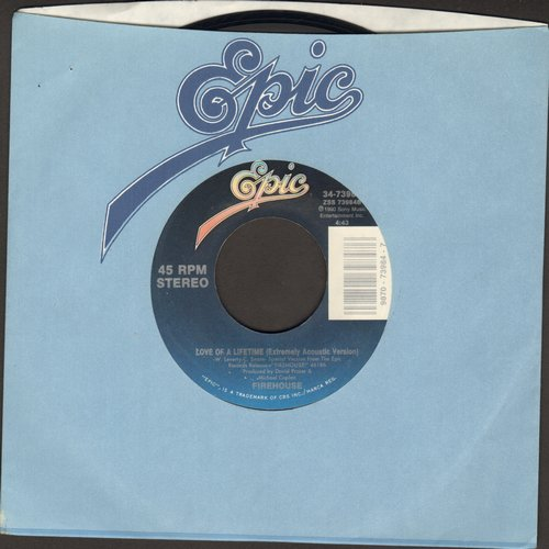 Firehouse - Love Of A Lifetime (Extremely Acoustic Version)/All She Wrote  - NM9/ - 45 rpm Records