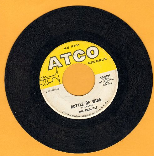 Fireballs - Bottle Of Wine/Can't You See I'm Tryin'  - EX8/ - 45 rpm Records