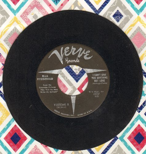 Fitzgerald, Ella - I Can't Give You Anything But Love/Reach For Tomorrow - EX8/ - 45 rpm Records