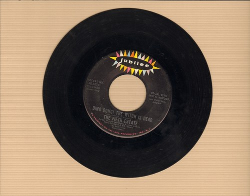Fifth Estate - Ding Dong! The Witch Is Dead/The Rub-A-Dub  - VG7/ - 45 rpm Records