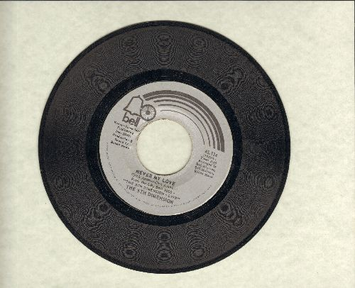 Fifth Dimension - Never My Love/A Love Like Ours  - VG7/ - 45 rpm Records