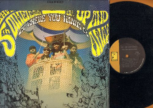 Fifth Dimension - Up, Up And Away - Go Where You Wanna Go: Poor Side Of Town, Which Way To Nowhere, Learn How To Fly, Misty Roses (Vinyl STEREO LP record, NICE condition!) - NM9/EX8 - LP Records