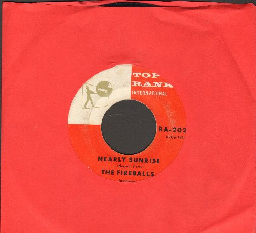 Fireballs - Nearly Sunrise/Bulldog (wol) - EX8/ - 45 rpm Records