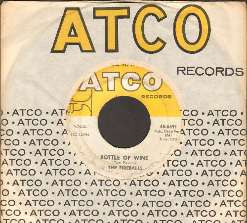 Fireballs - Bottle Of Wine/Can't You See I'm Tryin' (with Atco company sleeve) - EX8/ - 45 rpm Records