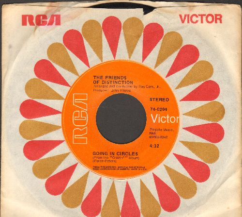 Friends Of Distinction - Going In Circles/Let Yourself Go (with RCA company sleeve) - EX8/ - 45 rpm Records