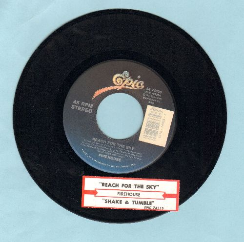 Firehouse - Shake & Tumble/Reach For The Sky (with juke box label) - NM9/ - 45 rpm Records