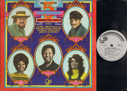 Fifth Dimension - Greatest Hits On Earth: Wedding Bell Blues, Aquarius/Let The Sunshine In, Up Up And Away, Never My Love, Puppet Man (Vinyl STEREO LP record) - NM9/VG7 - LP Records