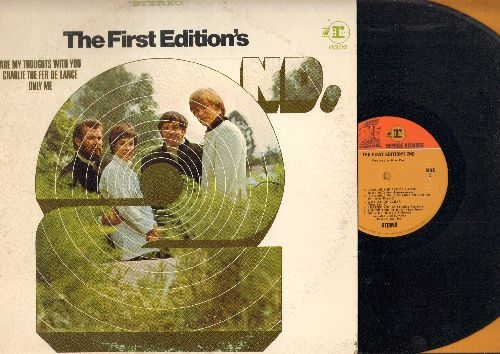 First Edition - The First Edition's 2nd: Rainbows On A Cloudy Day, A Patch Of Clear, Only Me, Look Around I'll Be There (vinyl STEREO LP record) - NM9/VG6 - 45 rpm Records