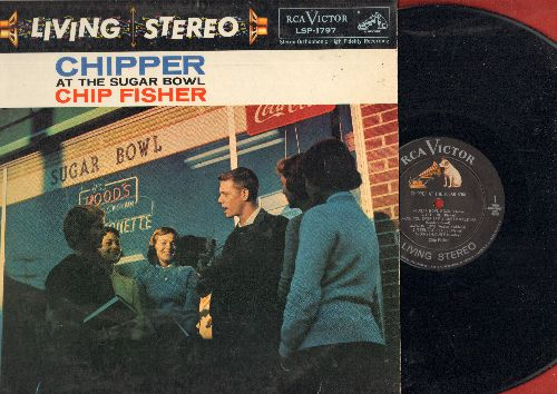 Fisher, Chip - Chipper At The Sugar Bowl: Sugar Bowl Rock, Teenage Blues, Oh-Ye-Louise, I Love Your Pony-Tail (vinyl STEREO LP record) - EX8/EX8 - LP Records