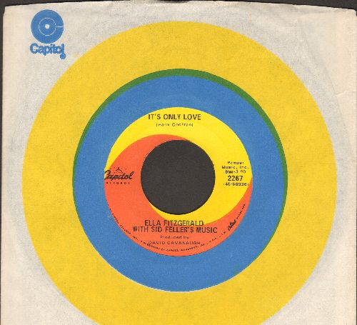 Fitzgerald, Ella - It's Only Love/Hawaiian War Chant (with Capitol company sleeve) - NM9/ - 45 rpm Records