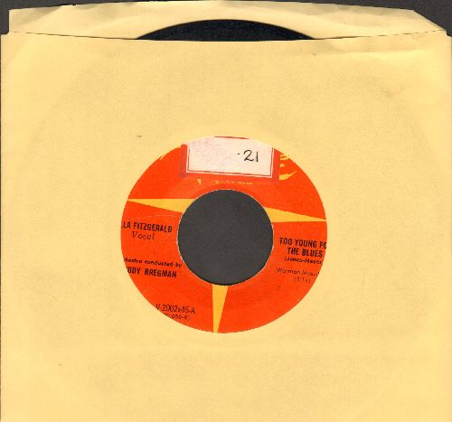 Fitzgerald, Ella - Too Young For The Blues/It's Only A Man (ssol) - EX8/ - 45 rpm Records