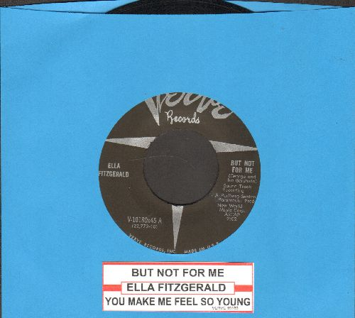Fitzgerald, Ella - But Not For Me/You Make Me Feel So Young (with juke box label) - EX8/ - 45 rpm Records