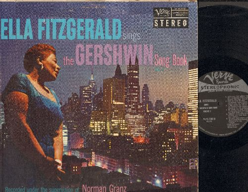 Fitzgerald, Ella - The Gershwin Song Book Vol. 1: Let's Call The Whole Thing Off, Love Is here To Stay, Fascinating Rhythm, Nice Work If You Can Get It (Vinyl STEREO LP record) - EX8/VG6 - LP Records