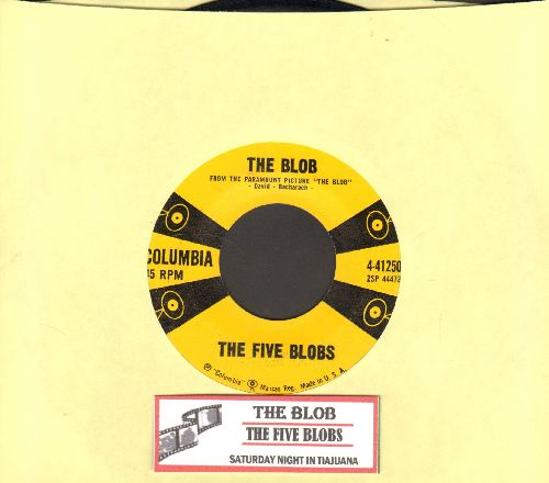 Five Blobs - The Blob/Saturday Night In Tijuana (with juke box label) - NM9/ - 45 rpm Records