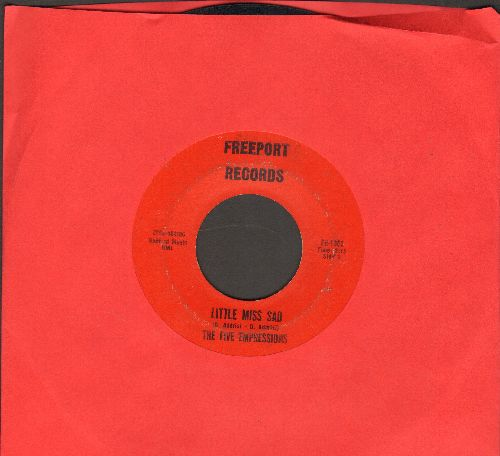 Five Expressions - Little Miss Sad/Hey Lover - VG7/ - 45 rpm Records