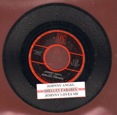 Fabares, Shelley - Johnny Angel/Johnny Loves Me (re-issue with juke box label) - VG7/ - 45 rpm Records