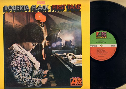 Flack, Roberta - First Take: The First Time Ever I Saw Your Face, Compared To What, I Told Jesus, Hey That's No Way To Say Goodbye (Vinyl STEREO LP record) - VG7/NM9 - LP Records