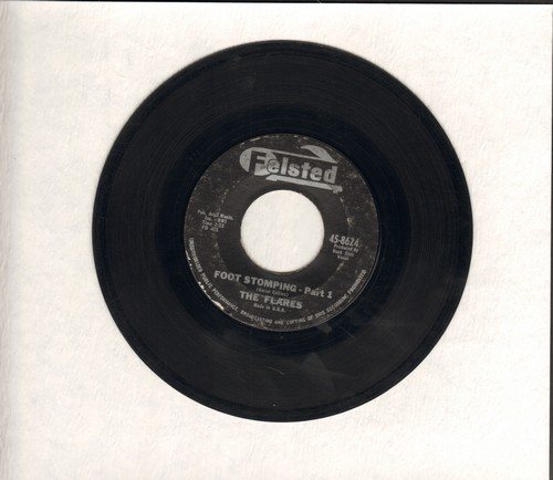Flares - Foot Stomping Part 1/Foot Somping Part 2 (by The Ramrocks) (minor wol) - VG7/ - 45 rpm Records