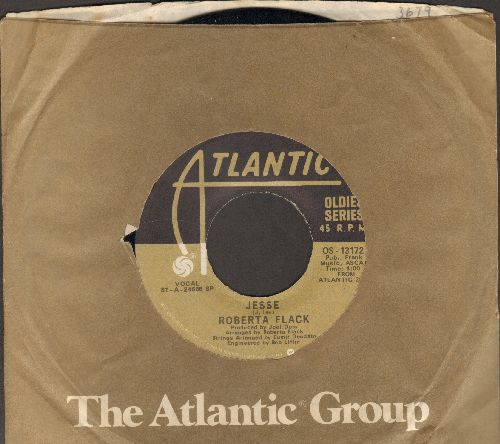 Flack, Roberta - Jesse/Feel Like Makin' Love  (double-hit re-issue with Atlantic company sleeve) - NM9/ - 45 rpm Records