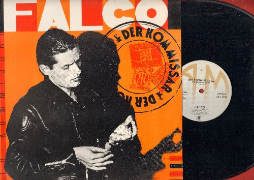 Falco - Der Kommissar/Auf der Flucht/Helden von heute (12 inch vinyl Maxi Single, US Pressing, sung in German) - NM9/NM9 - Maxi Singles