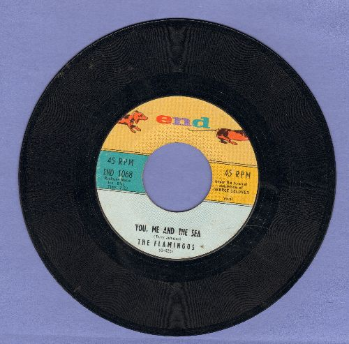 Flamingos - You, Me And The Sea/Nobody Loves Me Like You - EX8/ - 45 rpm Records