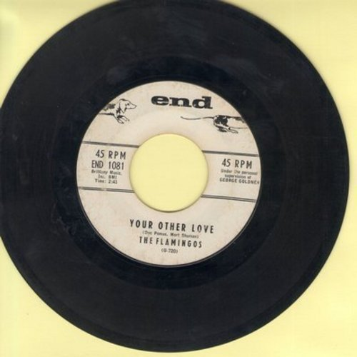 Flamingos - Your Other Love (double-A-sided DJ advance pressing) - VG7/ - 45 rpm Records