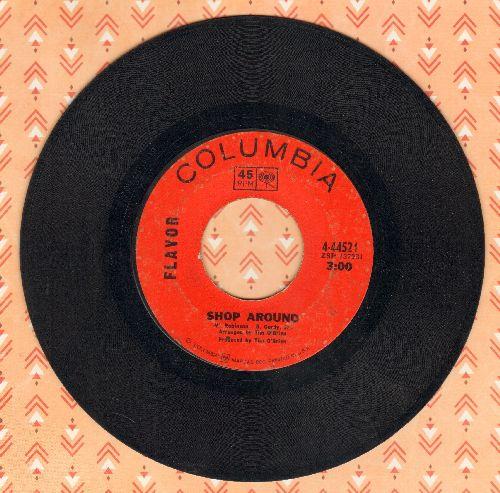 Flavor - Shop Around/Sally Had A Party  - VG6/ - 45 rpm Records