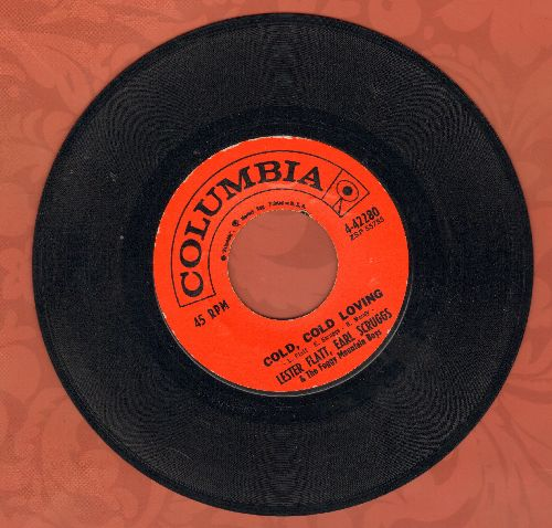 Flatt & Scruggs - Cold, Cold Loving/Just Ain't  - EX8/ - 45 rpm Records