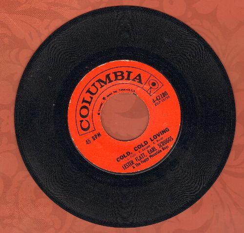 Flatt & Scruggs - Cold, Cold Loving/Just Ain't  - EX8/ - 45 rpm Records