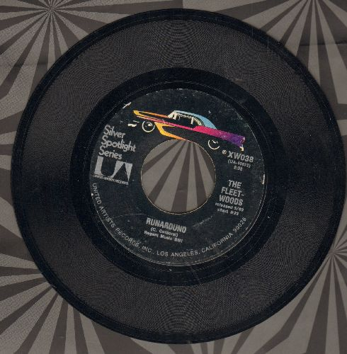 Fleetwoods - Come Softly To Me/Runaround (double-hit re-issue) - EX8/ - 45 rpm Records