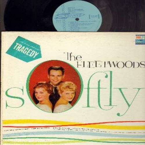 Fleetwoods - Softly: Tragedy, Little White Cloud That Cried, Dormilona, I'm So Alone, Love Drop (Vinyl MONO LP record) - EX8/VG6 - LP Records