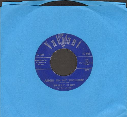 Flint, Shelby - Angel On My Shoulder/Somebody  - EX8/ - 45 rpm Records