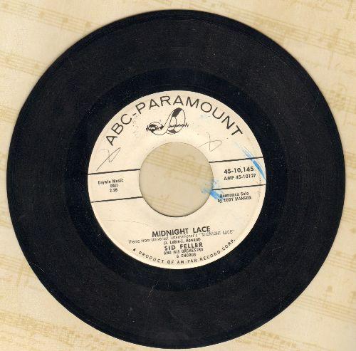 Feller, Sid & His Orchestra & Chorus - Midnight Lace/Isle Of Samoa (DJ advance pressing) - NM9/ - 45 rpm Records