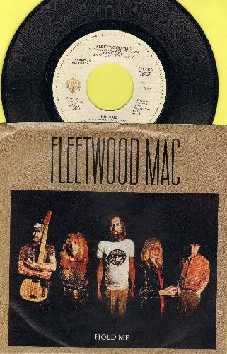 Fleetwood Mac - Hold Me (double-A-sided DJ advance pressing with picture sleeve) - NM9/EX8 - 45 rpm Records