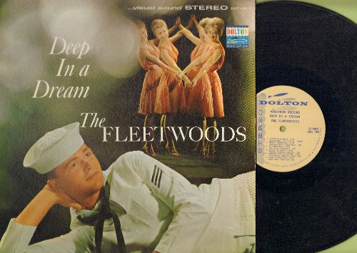 Fleetwoods - Deep In A Dream: A Teenager In Love, Lavender Blue, Lah-Dee-Dah, Daddy's Home (vinyl STEREO LP record, DJ advance pressing) - NM9/NM9 - LP Records