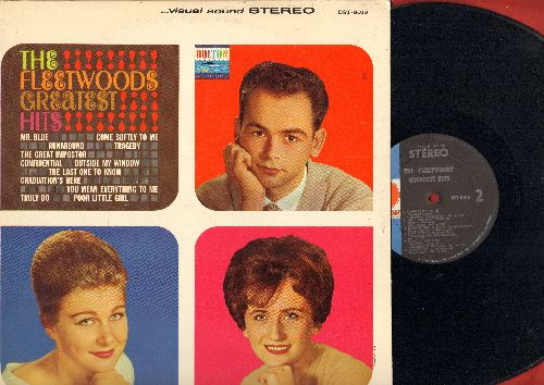 Fleetwoods - Greatest Hits: Mr. Blue, Come Softly To Me, Tragedy, Runaround, Graduation's Here (Vinyl STEREO LP record) - EX8/EX8 - LP Records
