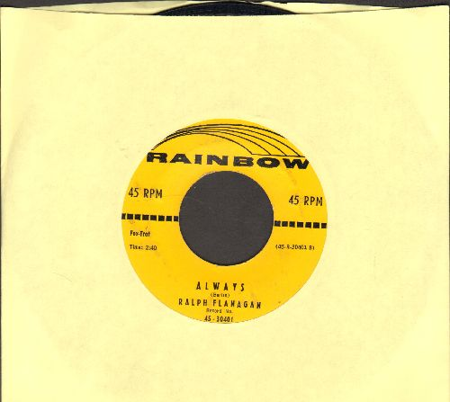 Flanagan, Ralphy - Always/Make Believe - EX8/ - 45 rpm Records